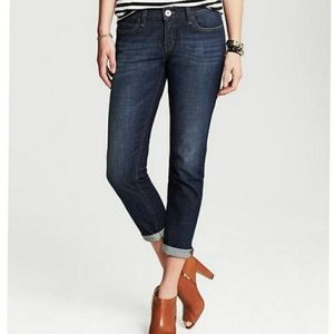 Banana Republic Cuffed Ankle Skinny Fit Jeans
